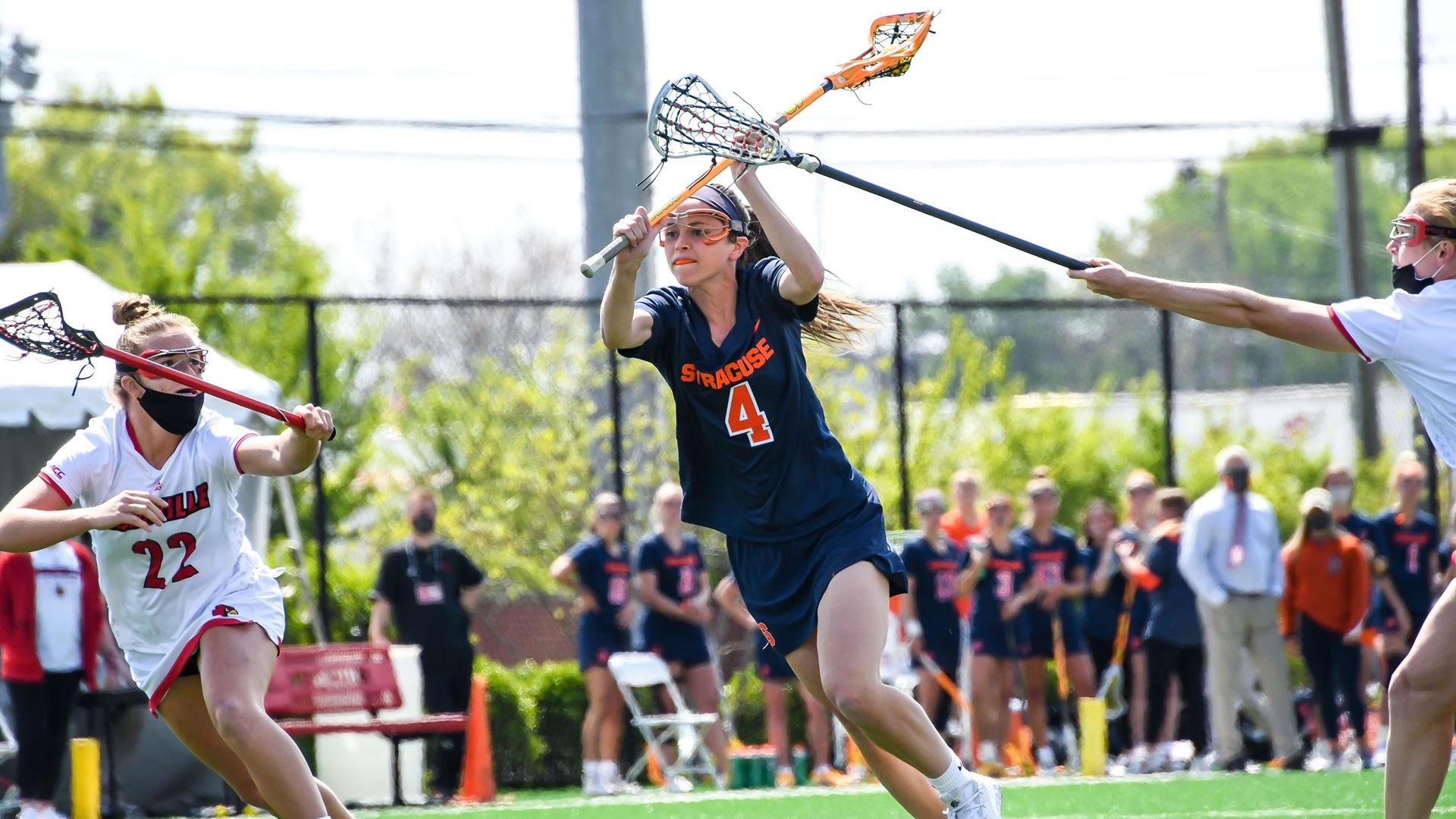 Syracuse women's lacrosse completes sweep of Louisville (full coverage)